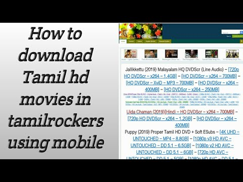 Tamilrockers Hd How To Download Tamil Hd Movies Download Tamilrockers