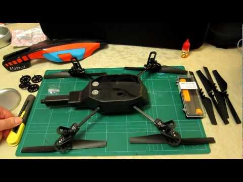 comment demonter ar drone