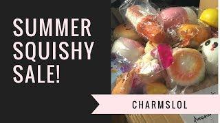 Summer Squishy YouTube Shop Sale! | CharmsLOL