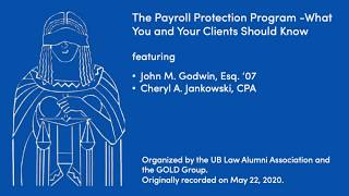 "screenshot of video ""The Payroll Protection Program -What You and Your Clients Should Know"""