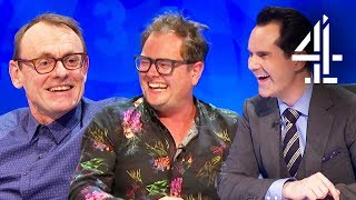 Sean Lock DERAILS Show and His Career With 'Nazi Island'!! | 8 Out of 10 Cats Does Countdown