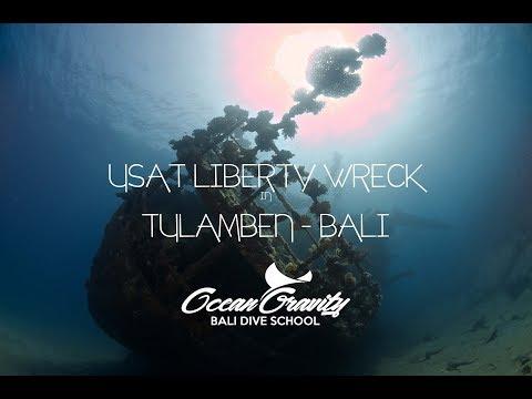 Diving USAT Liberty Wreck Tulamben, Bali Indonesia