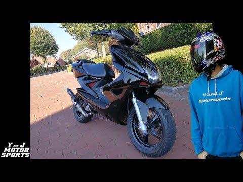 Yamaha Aerox 70ccm Tuning Story 2019 | BlackWidow | StreetRox2