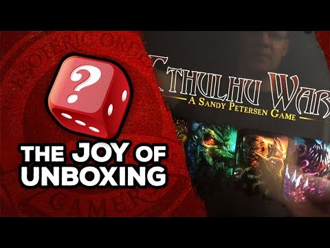 The Joy of Unboxing: Cthulhu Wars