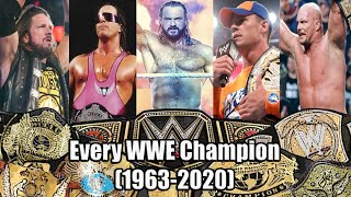 Every WWE Champion (1963-2020) FULL VERSION