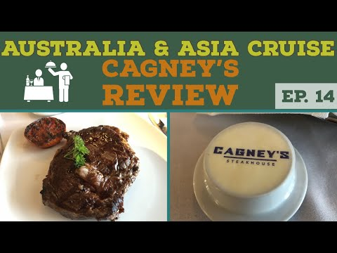 NCL's Cagney's Steakhouse Review l Cruise Vlog l Ep. 14