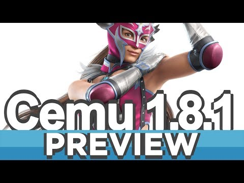 Cemu 1,8,1 (Wii U Emulator) | Improvements Preview