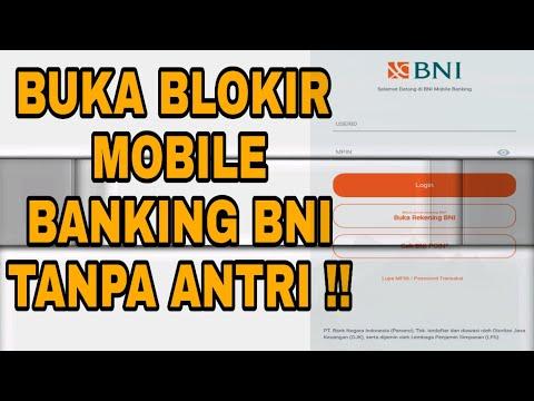 TUTORIAL BUKA PIN M-BANKING BNI YANG TERBLOKIR