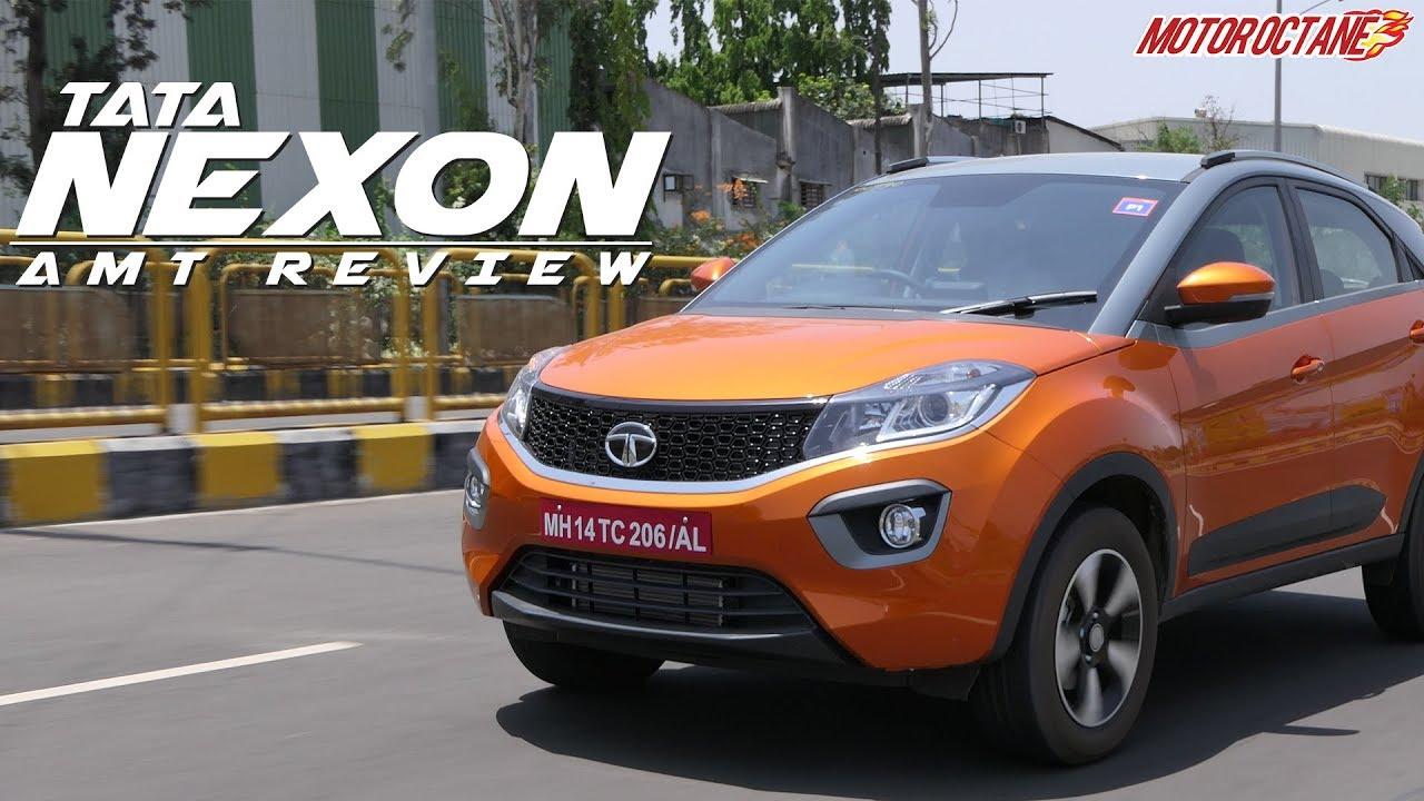 Motoroctane Youtube Video - Tata Nexon AMT Review in Hindi | MotorOctane