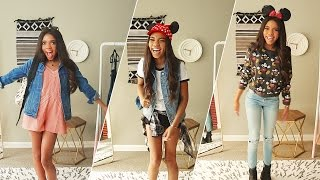 3 Disneyland Outfits With Teala Dunn | What To Wear | Disney Style