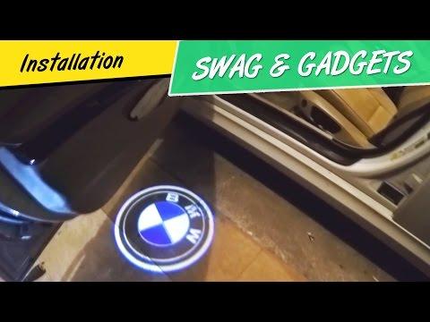 How to Install BMW Door Welcome Lights - 3D Shadow Projector Logo Lights - 3D Laser Shadow Lights