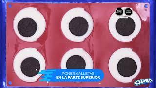 Oreo Cookie Gelatina al estilo Oreo anuncio