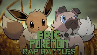 Rockruff  - (Pokémon) - Eevee vs Rockruff - Pokemon Rap Battles #8