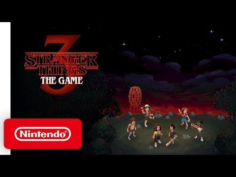 Stranger Things 3: The Game - Launch Trailer - Nintendo Switch