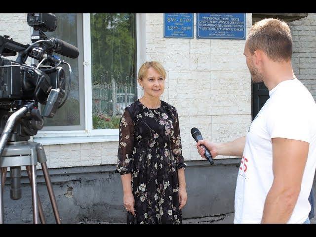 Ольга Бабенко поздравила подопечных Центрально-Городского терцентра
