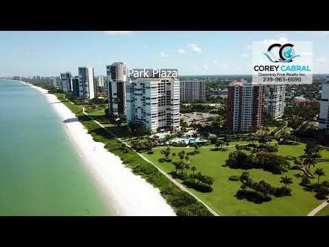 Park Shore Beachfront High Rise Flyover in Naples, Florida