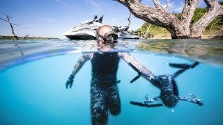 Found Best Friends LOST Drone Underwater!! (Surprised him with NEW Drone!!)| Jiggin