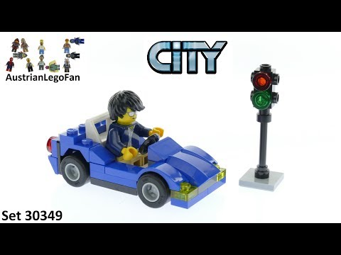 Vidéo LEGO City 30349 : La voiture de sport (Polybag)