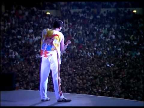 Download Queen - Love of my life & Is this the world we created (Live at Wembley) Mp4 HD Video and MP3