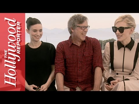 Cate Blanchett & Rooney Mara on Their Sex Scene in 'Carol' - Live From Cannes 2015