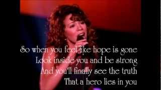 Mariah Carey - Hero (lyrics)