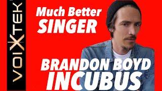 <b>Brandon Boyd</b>  On Vocal Training