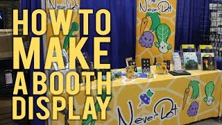 How To Make A Booth Display