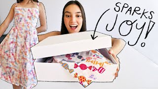 DESIGNER UNBOXING & OOTD | A Dress That Makes You Want To Bake!