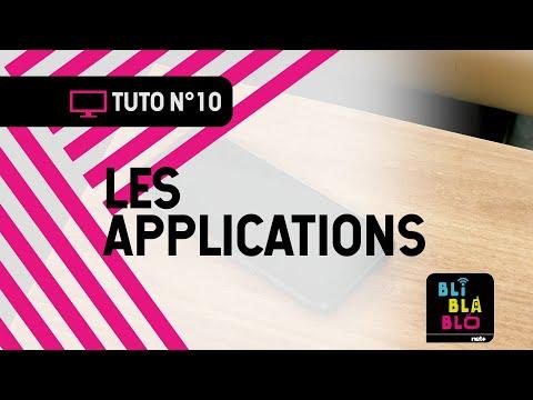 Trucs & Astuces BLI BLA BLO: Les applications