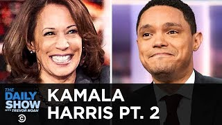 Kamala Harris on Her 2020 Presidential Campaign and Trump's Vanity Wall | The Daily Show