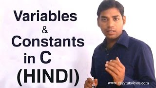 Variable and Constant in C (HINDI/URDU)