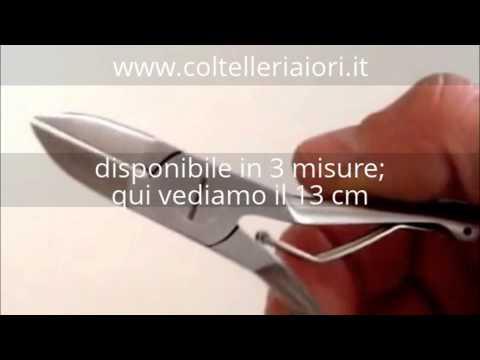 Tronchesino da unghie inossidabile. Da Coltelleria Iori a Torino