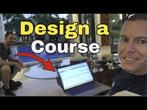 How To Design an Online Course [Fast + Easy + Template]