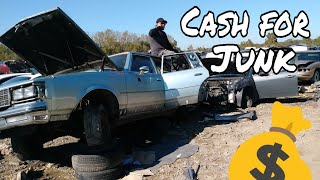 What is like Scrapping Cars CASH FOR JUNK 🚗