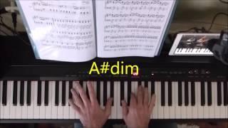 Telephone Line ELO  Piano tutorial  how to play