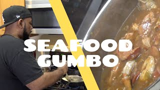 Louisiana Seafood Gumbo (Secret Recipe)