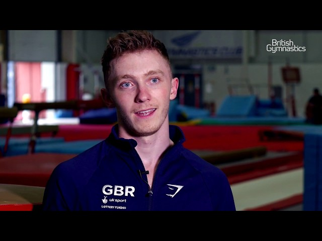 2019 Gymnastics World Cup - Nile Wilson interview