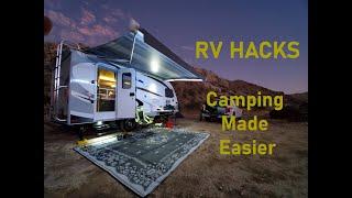 RV & Travel Trailer Hacks: Camping Made Easier