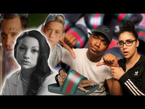 BHAD BHABIE feat. Lil Yachty - Gucci Flip Flops Music Video Danielle Bregoli | REACTION lil Tay Diss
