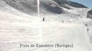 preview picture of video 'Pistes du Domaine du Tourmalet'