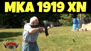 MKA 1919 XN Shotgun Shooting