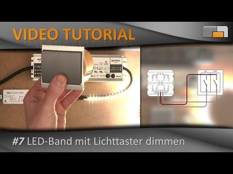 LED-Anleitung - Teil 7: LED-Streifen mit Lichttaster dimmen