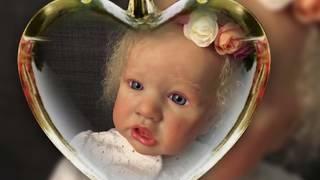 КУКЛА РЕБОРН. Красивая куколка Яся из МОЛДА SASKIA . REBORN DOLL SASKIA .