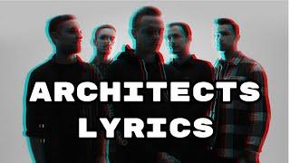 Architects - Behind The Throne w/ lyrics