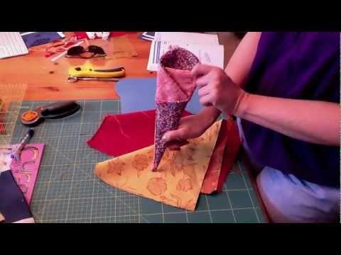 Video tutorial-cuciamo un facile porta forbici!