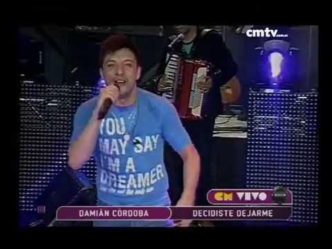 Damián Córdoba video Decidiste dejarme - CM Vivo 2014