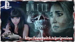 Until Dawn First time Playing Part 1