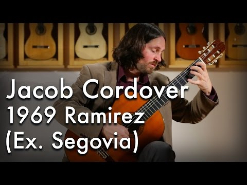 Jacob Cordover - Spanish Dance No. 5 (1969 Ramirez ex. Segovia)