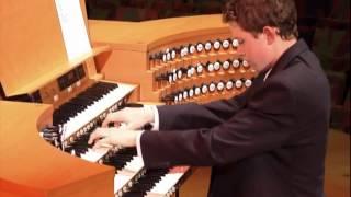 Thomas Mellan plays: Bach, Toccata in C major BWV 564 at Walt Disney Concert Hall