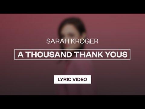 A Thousand Thank Yous - Youtube Lyric Video